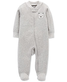 Carter's Baby Boys Bear Footed Coverall