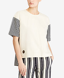 Lauren Ralph Lauren Petite Cotton T-Shirt