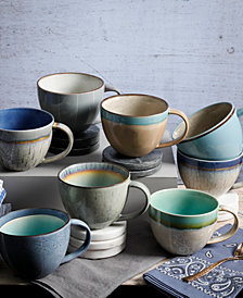 Gibson Elite Reactive Glaze Mugs Collection