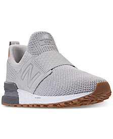 New Balance Men's 574 Sport Slip Casual Sneakers from Finish Line