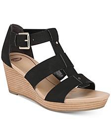 Barton Wedge Sandals