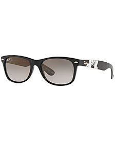Ray-Ban x Disney Polarized Sunglasses, NEW WAYFARER RB2132 55