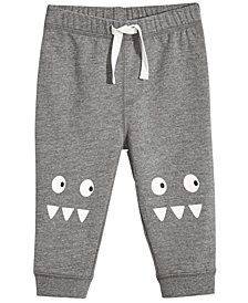 First Impressions Baby Boys Monster-Graphic Jogger Pants, Created for Macy's