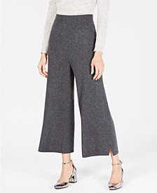 Charter Club Cashmere Culotte Pants, in Regular & Petite Sizes, Created for Macy's