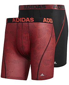 adidas Men's 2-Pk. ClimaCool® Graphic Boxer Briefs