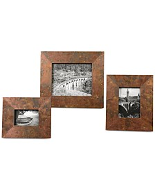 Uttermost Ambrosia Copper Photo Frames, Set of 3