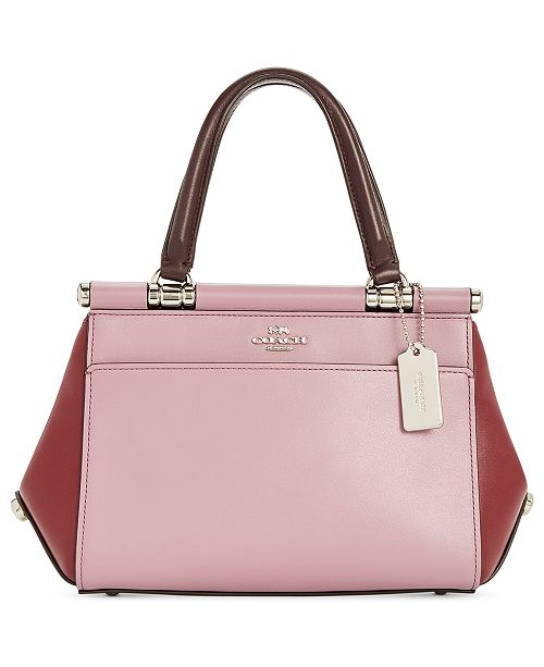 80862b4367dbce COACH Grace 20 Colorblock Bag & Reviews - Handbags & Accessories ...