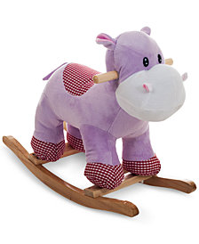 Trademark Global Happy Trails Henrietta the Rocking Hippo