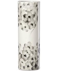 "Lenox Hydrangea 9"" Porcelain Cylinder Vase"
