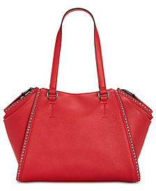 I.N.C. Hazell Studded Shoulder Bag, Created for Macy's