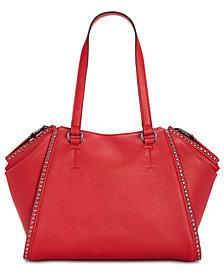 I.N.C. Hazell Studded Shoulder Bag, Created for Macy's