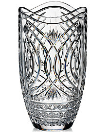 "Waterford Waves of Tramore Master Craft 14"" Vase"
