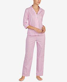 Lauren Ralph Lauren Floral-Print Pajama Set
