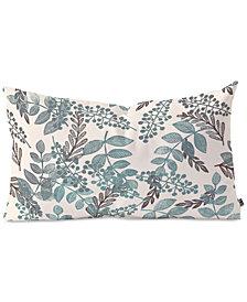 Deny Designs Dash & Ash Blue Bell Oblong Throw Pillow