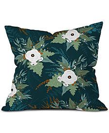 Deny Designs Iveta Abolina Isabella Garden Throw Pillow