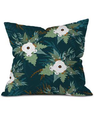 Deny Designs Iveta Abolina Isabella Garden Throw Pillow 6593961