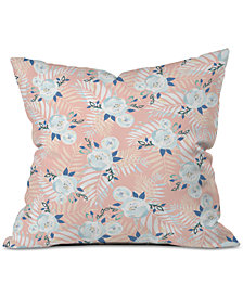 Deny Designs Iveta Abolina Sweet Stella Peach Throw Pillow