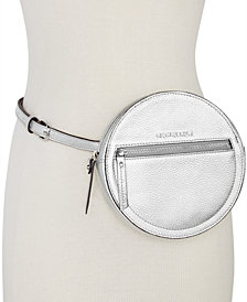 MICHAEL Michael Kors Round Pebble Leather Fanny Pack