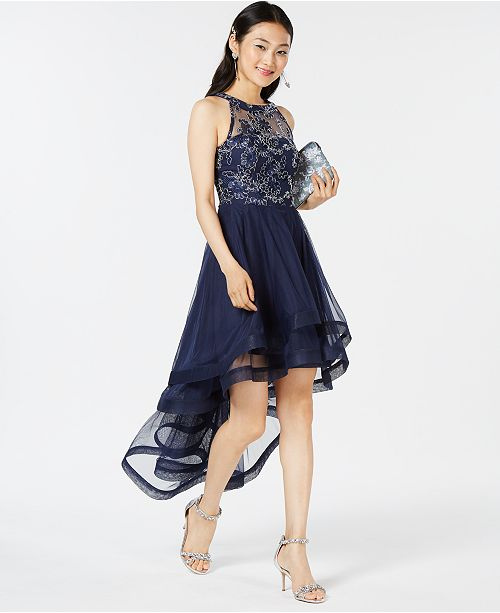 b4ab43515 Speechless Juniors' Tiered High-Low Dress, Created for Macy's ...