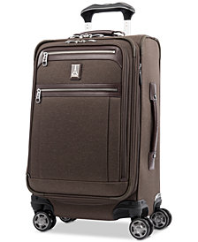 "Travelpro Platinum Elite 21"" Softside Carry-On Spinner Suitcase"