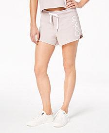 Calvin Klein Performance Curved-Hem Logo Shorts