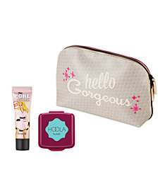 Receive a FREE 3-Pc. Beauty Gift with any $50 Benefit Cosmetics purchase. Your choice of Hoola or Hoola Lite Bronzer!