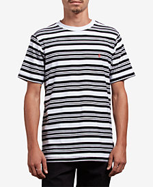 Volcom Men's Randal Striped Cotton T-Shirt