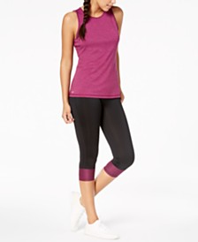 Ideology Keyhole-Back Tank Top & Capri Leggings, Created for Macy's
