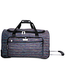 Jessica Simpson Performance Rolling Duffel Bag