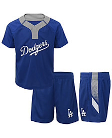 Outerstuff Los Angeles Dodgers Ground Rules Short Set, Toddler Boys (2T-4T)