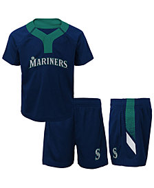 Outerstuff Seattle Mariners Ground Rules Short Set, Toddler Boys (2T-4T)