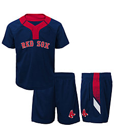 Outerstuff Boston Red Sox Ground Rules Short Set, Infants (12-24 Months)