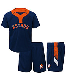 Outerstuff Houston Astros Ground Rules Short Set, Infants (12-24 Months)