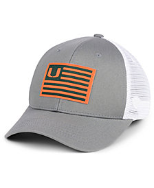 Top of the World Miami Hurricanes Brave Trucker Snapback Cap