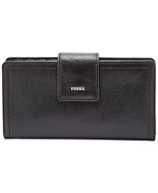 Fossil Logan Tab Clutch Wallet