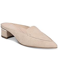 Franco Sarto Genesse Block-Heel Pointed-Toe Mules