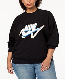 Nike Plus Size Sportswear Logo Sweatshirt