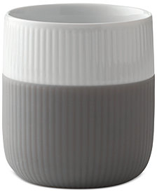 Royal Copenhagen Elephant Grey Fluted Contrast Mug