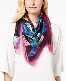 Echo Flying Away Square Bandana Scarf