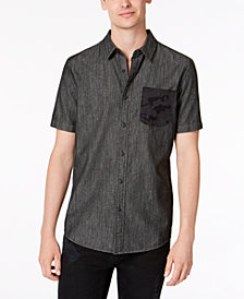 American Rag Men's Camo Pocket Shirt, Created for Macy's