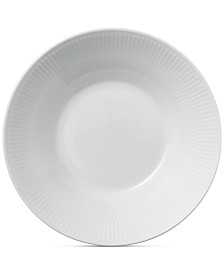Royal Copenhagen White Fluted Pasta Bowl