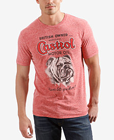 Lucky Brand Men's Castrol Bulldog Graphic T-Shirt