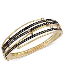 Le Vian® Diamond Multi-Band Bangle Bracelet (2-1/6 ct. t.w.) in 14k Gold
