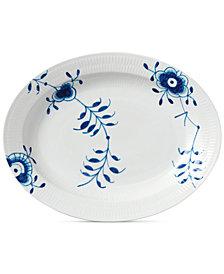 Royal Copenhagen Blue Fluted Mega Large Oval Platter