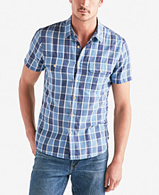 Lucky Brand Men's Plaid Shop Shirt