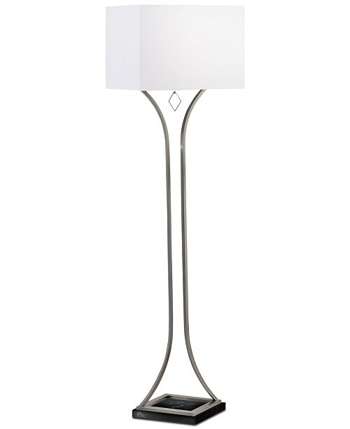 Nova Lighting Jubilee Antique Nickel Floor Lamp