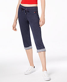 Tommy Hilfiger Sport Cuffed Cropped Sweatpants, Created for Macy's