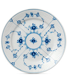 Royal Copenhagen Blue Fluted Plain Dessert Plate