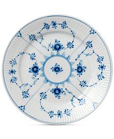 Royal Copenhagen Blue Fluted Plain Dessert Plate