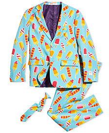 OppoSuits Big Boys 3-Pc. Cool Cones Suit & Tie Set